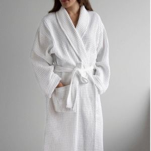 🆕The Hotel Collection Turkish Cotton Waffle Robe